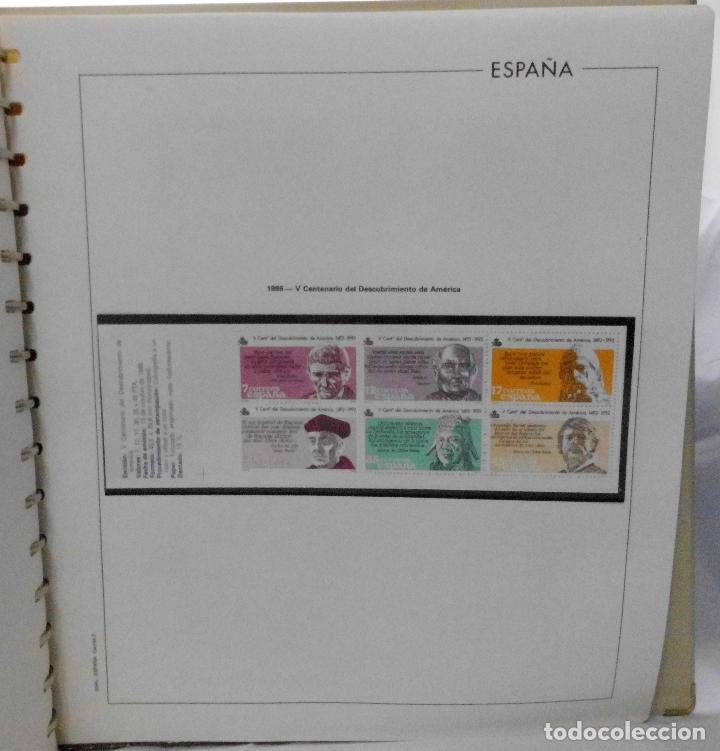 Sellos: ESPAÑA 1974 A 1986 y 1987 A 1994, ALBUM DE SELLOS, NUEVOS SIN FIJASELLOS ** - Foto 108 - 66483470