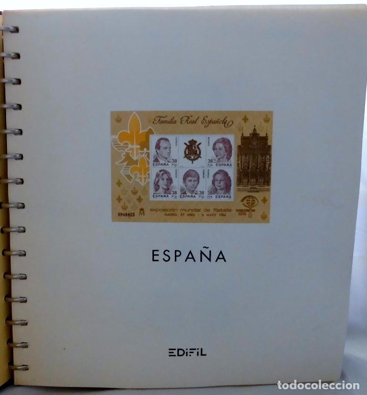Sellos: ESPAÑA 1974 A 1986 y 1987 A 1994, ALBUM DE SELLOS, NUEVOS SIN FIJASELLOS ** - Foto 111 - 66483470