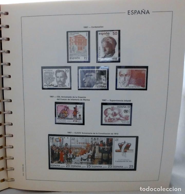 Sellos: ESPAÑA 1974 A 1986 y 1987 A 1994, ALBUM DE SELLOS, NUEVOS SIN FIJASELLOS ** - Foto 113 - 66483470