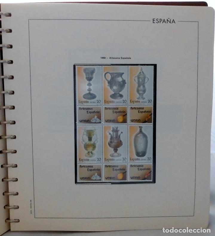 Sellos: ESPAÑA 1974 A 1986 y 1987 A 1994, ALBUM DE SELLOS, NUEVOS SIN FIJASELLOS ** - Foto 126 - 66483470