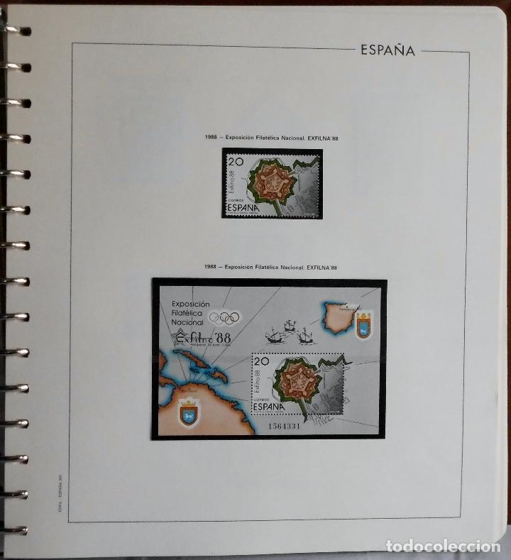 Sellos: ESPAÑA 1974 A 1986 y 1987 A 1994, ALBUM DE SELLOS, NUEVOS SIN FIJASELLOS ** - Foto 128 - 66483470