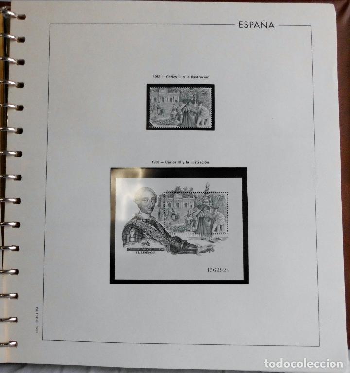 Sellos: ESPAÑA 1974 A 1986 y 1987 A 1994, ALBUM DE SELLOS, NUEVOS SIN FIJASELLOS ** - Foto 132 - 66483470