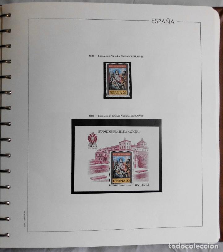Sellos: ESPAÑA 1974 A 1986 y 1987 A 1994, ALBUM DE SELLOS, NUEVOS SIN FIJASELLOS ** - Foto 139 - 66483470