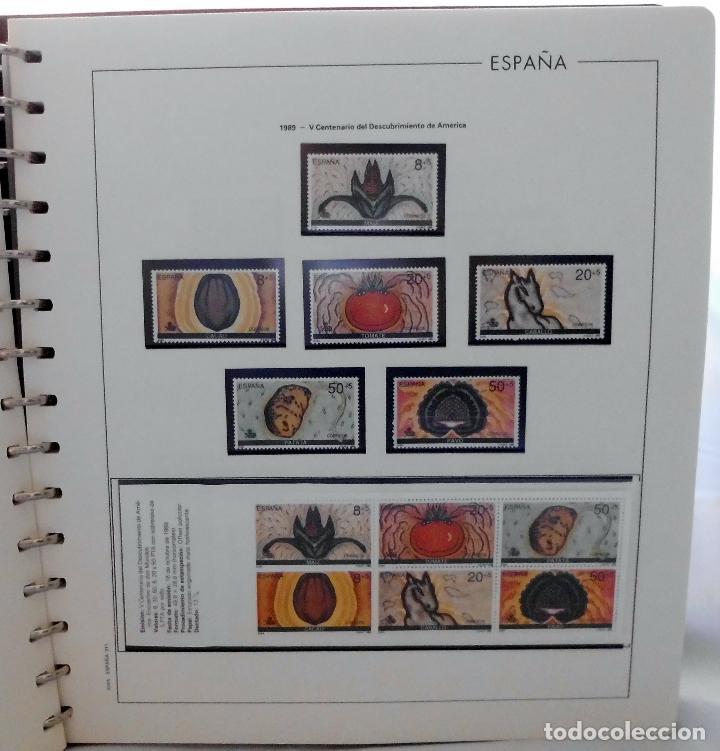 Sellos: ESPAÑA 1974 A 1986 y 1987 A 1994, ALBUM DE SELLOS, NUEVOS SIN FIJASELLOS ** - Foto 142 - 66483470