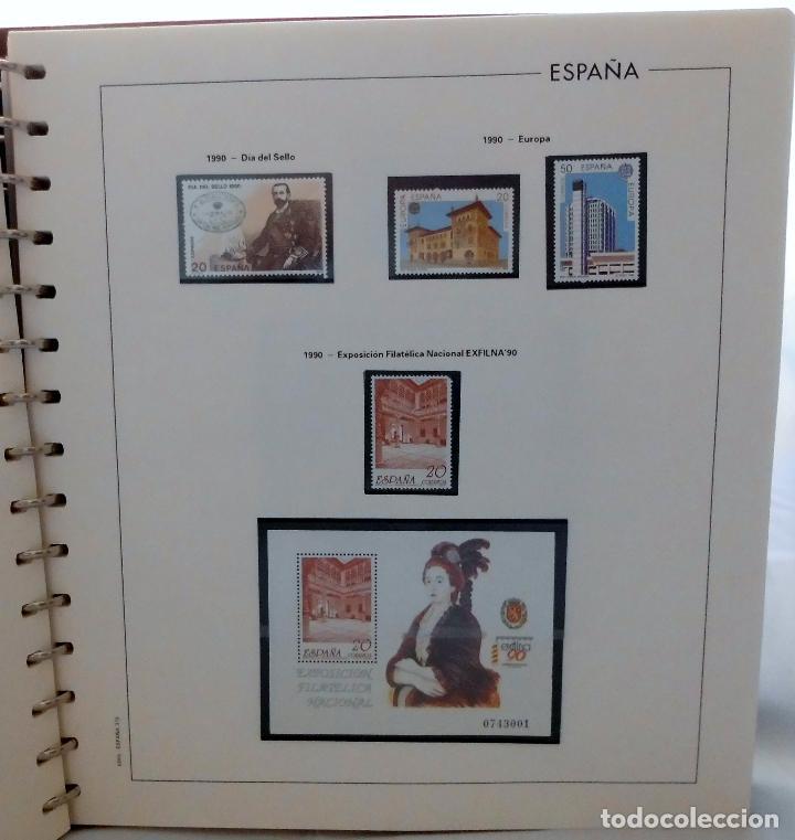 Sellos: ESPAÑA 1974 A 1986 y 1987 A 1994, ALBUM DE SELLOS, NUEVOS SIN FIJASELLOS ** - Foto 147 - 66483470