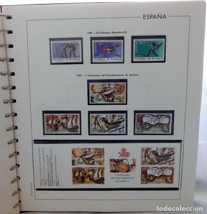 Sellos: ESPAÑA 1974 A 1986 y 1987 A 1994, ALBUM DE SELLOS, NUEVOS SIN FIJASELLOS ** - Foto 150 - 66483470