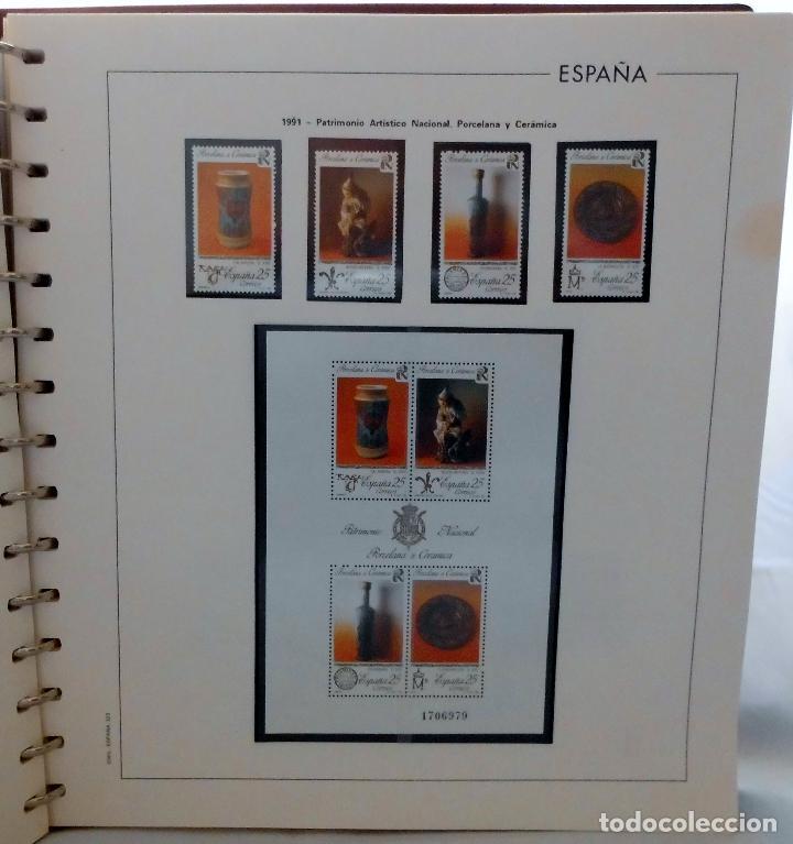 Sellos: ESPAÑA 1974 A 1986 y 1987 A 1994, ALBUM DE SELLOS, NUEVOS SIN FIJASELLOS ** - Foto 157 - 66483470