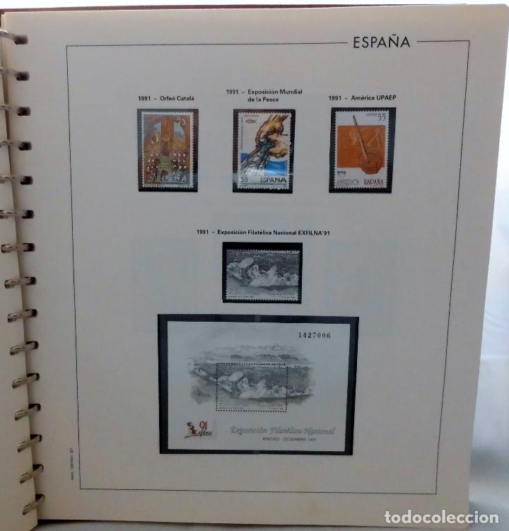 Sellos: ESPAÑA 1974 A 1986 y 1987 A 1994, ALBUM DE SELLOS, NUEVOS SIN FIJASELLOS ** - Foto 161 - 66483470