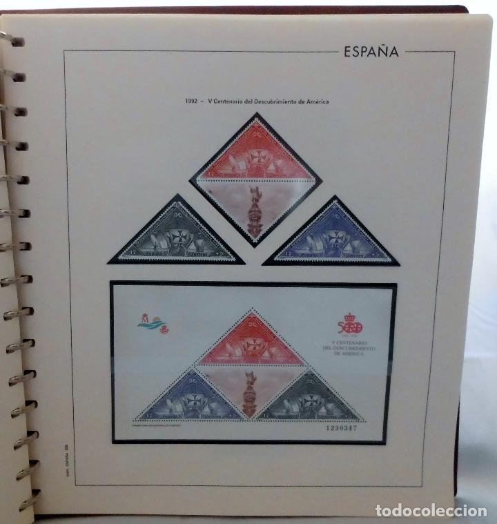 Sellos: ESPAÑA 1974 A 1986 y 1987 A 1994, ALBUM DE SELLOS, NUEVOS SIN FIJASELLOS ** - Foto 164 - 66483470
