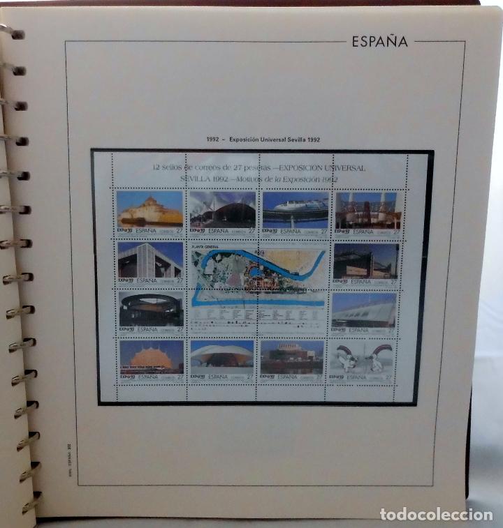 Sellos: ESPAÑA 1974 A 1986 y 1987 A 1994, ALBUM DE SELLOS, NUEVOS SIN FIJASELLOS ** - Foto 166 - 66483470