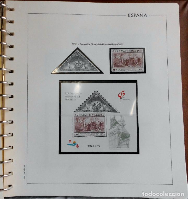 Sellos: ESPAÑA 1974 A 1986 y 1987 A 1994, ALBUM DE SELLOS, NUEVOS SIN FIJASELLOS ** - Foto 170 - 66483470