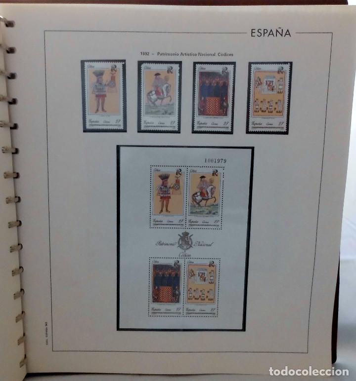 Sellos: ESPAÑA 1974 A 1986 y 1987 A 1994, ALBUM DE SELLOS, NUEVOS SIN FIJASELLOS ** - Foto 177 - 66483470