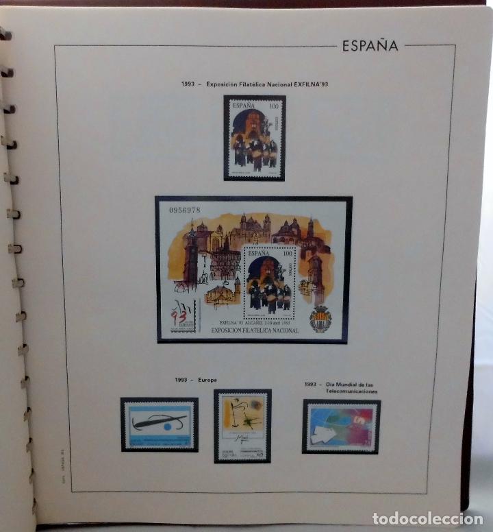 Sellos: ESPAÑA 1974 A 1986 y 1987 A 1994, ALBUM DE SELLOS, NUEVOS SIN FIJASELLOS ** - Foto 182 - 66483470