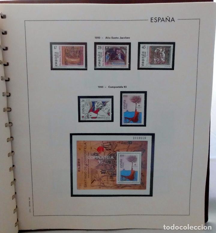 Sellos: ESPAÑA 1974 A 1986 y 1987 A 1994, ALBUM DE SELLOS, NUEVOS SIN FIJASELLOS ** - Foto 183 - 66483470