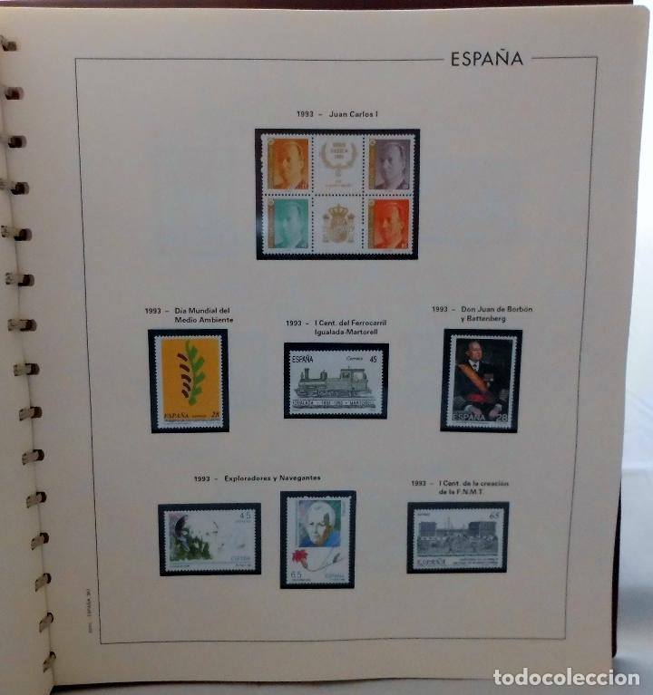 Sellos: ESPAÑA 1974 A 1986 y 1987 A 1994, ALBUM DE SELLOS, NUEVOS SIN FIJASELLOS ** - Foto 184 - 66483470