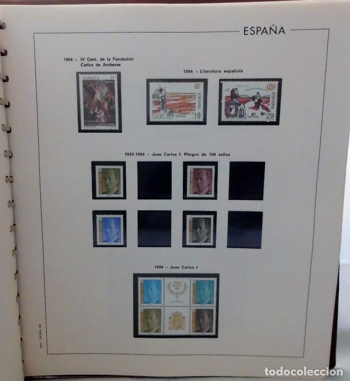 Sellos: ESPAÑA 1974 A 1986 y 1987 A 1994, ALBUM DE SELLOS, NUEVOS SIN FIJASELLOS ** - Foto 189 - 66483470