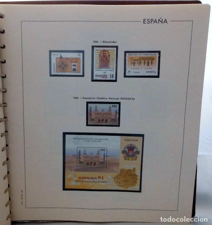 Sellos: ESPAÑA 1974 A 1986 y 1987 A 1994, ALBUM DE SELLOS, NUEVOS SIN FIJASELLOS ** - Foto 190 - 66483470