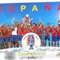 Sellos: HB** 2012 ESPAÑA CAMPEONES UEFA EURO 2012. Lote 67009142
