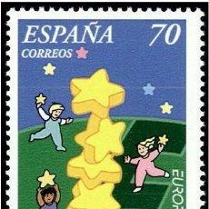 Sellos: ESPAÑA 2000 - EUROPA CEPT - EDIFIL Nº 3707. Lote 67340861