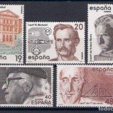 Francobolli: CENTENARIOS. ESPAÑA. EMIT. AÑO 1987. Lote 67377789