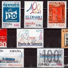 Sellos: ESPAÑA 2004 DIARIOS CENTENARIOS DE ESPAÑA . **,MNH. Lote 67464225