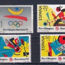 Sellos: BARCELONA'92 (PREÓLÍMPICA) EMIT. 3-10-88. Lote 143150793