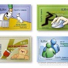 Sellos: [CF1098] ESPAÑA 2011. SERIE VALORES CÍVICOS (MNH). Lote 67565901