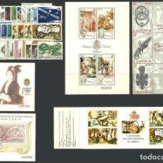 Sellos: ESPAÑA, AÑO 1990 COMPLETO, NUEVO SIN SEÑAL FIJASELLOS, MNH**. Lote 67811918