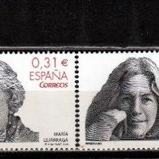 Sellos: ESPAÑA 2008.SERIE. PERSONAJES. **.,MNH. Lote 67975949