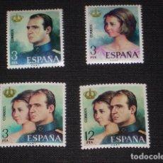 Sellos: USADO - EDIFIL 2302/2305 - SPAIN 1975 REYES DE ESPAÑA /M. Lote 68760037