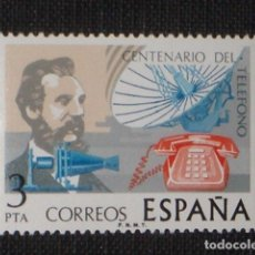 Sellos: USADO - EDIFIL 2311 - SPAIN 1976 CENTENARIO DEL TELEFONO /M. Lote 206997491