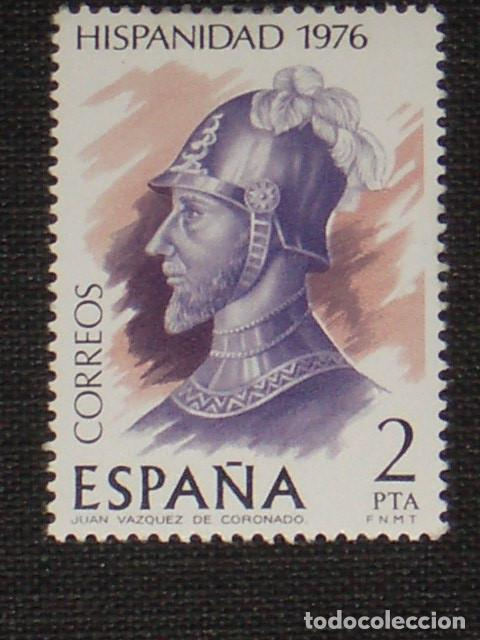 USADO - EDIFIL 2372 - SPAIN 1976 HISPANIDAD /M (Sellos - España - Juan Carlos I - Desde 1.975 a 1.985 - Usados)