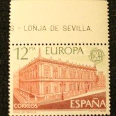 Sellos: SELLO 1978 EUROPA LONJA DE SEVILLA 12 PTA CEPT NUEVO. Lote 68929901