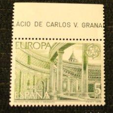 Sellos: SELLO 1978 EUROPA PALACIO DE CARLOS V GRANADA 5 PTA CEPT NUEVO. Lote 68930181