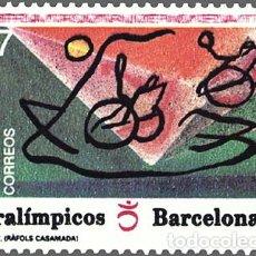 Sellos: USADO - EDIFIL 3192 - SPAIN 1992 JUEGOS PARAOLIMPICOS /M. Lote 206997128