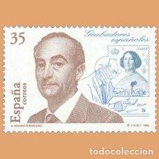Sellos: USADO - EDIFIL 3550 - SPAIN 1998 GRABADORES ESPAPOLES /M. Lote 206997402
