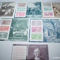 Sellos: SELLOS ESPAÑA SERIE LOS VIAJES DE COLON 1992 - COMPLETA - EXCELENTE ESTADO MNH. Lote 69914469