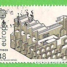 Selos: EDIFIL 2905. EUROPA. ARTES MODERNAS. ARQUITECTURA - MUSEO NACIONAL DE ARTE ROMANO DE MÉRIDA. (1987). Lote 71017421