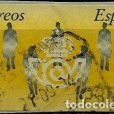 Sellos - ESPAÑA 1993 (Etiqueta ATM) (Termica) Siluetas (1230 PTS) usada - 71406807