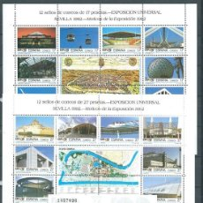 Sellos: EXPO 92 , 1992, BLOQUES , MNH** . Lote 71514494
