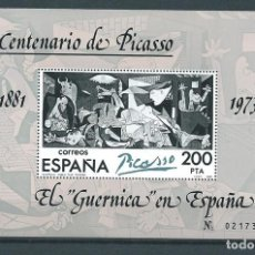 Sellos: GUERNICA, PICASSO, 1981. TIPO II, MNH** . Lote 103336567