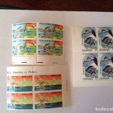 Sellos: ESPAÑA 1978 PROTECCIÓN A LA NATURALEZA. EDIFIL 2469/73** BLOQUE DE 4. Lote 71845135