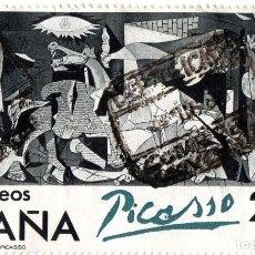 Sellos: SELLO ESPAÑA 1981 - EL GUERNICA EN ESPAÑA. CENTENARIO DE RUÍZ PICASSO. Lote 71968431