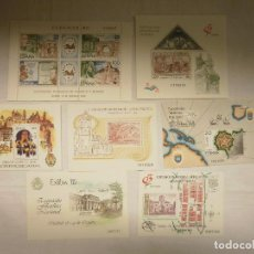 Sellos: SELLOS EXPOSICION FILATELICA 1980-85-88-90-91-92-93. Lote 72148707
