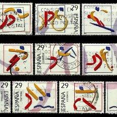Sellos - ESPAÑA 1994- EDI 3325/34 (Serie-Deportes Olimpicos Oro) usados - 114299284