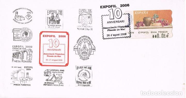 095 Carta Exposicion Filatelica Pineda De Mar Comprar Sellos