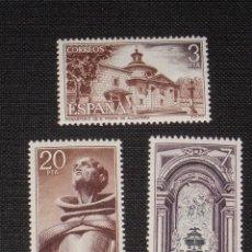 Sellos: NUEVO - EDIFIL 2375/2377 SIN FIJASELLOS - SPAIN 1976 MNH - SAN PEDRO ALCANTARA /M. Lote 186229930