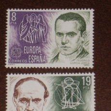 Sellos: NUEVO - EDIFIL 2568/2569 SIN FIJASELLOS - SPAIN 1980 MNH - EUROPA /M. Lote 152947873