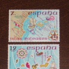 Sellos: NUEVO - EDIFIL 2622/2623 SIN FIJASELLOS - SPAIN 1981 MNH - ESPAÑA INSULAR /M. Lote 155994109