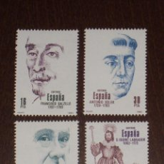 Sellos: NUEVO - EDIFIL 2705/2708 SIN FIJASELLOS - SPAIN 1983 MNH - CENTENARIOS /M. Lote 143932244